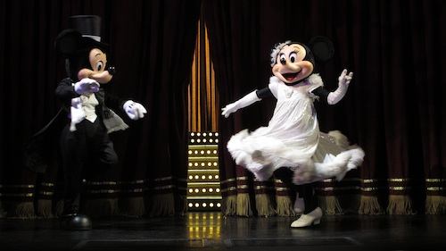 Mickey loves to Dance
