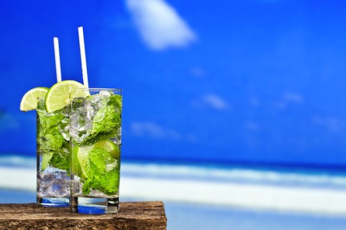 Cocktail Mojito in Ibiza