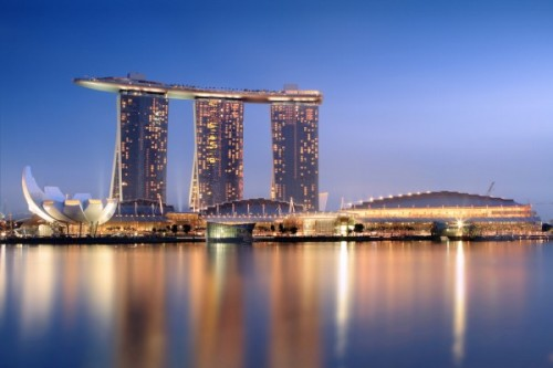 Marina Bay Sands in Singapore – photo by Wikimedia