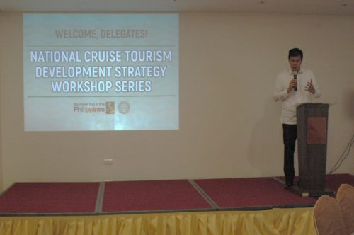 DOT Undersecretary Benito C. Bengzon, Jr. stresses the importance of convergence to effectively implement the cruise tourism strategy